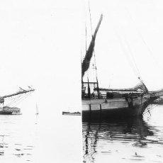 Old photograph - VALENCIA - PUERTO - POSITIVO EN CRISTAL ESTEREOSCOPICO - AÑOS 1910-20 - 130306614