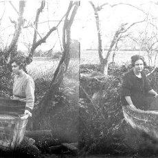Fotografía antigua: VALENCIA - VISTA - POSITIVO EN CRISTAL ESTEREOSCOPICO - AÑOS 1910-20. Lote 130309798