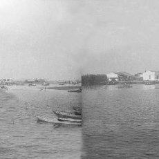 Fotografía antigua: VALENCIA - EL PALMAR - NEGATIVO EN CRISTAL ESTEREOSCOPICO - AÑOS 1910-20. Lote 130315086