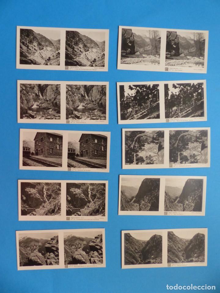 Fotografía antigua: RIBAS-NURIA, GERONA - VISTAS ESTEREOSCOPICAS DE ESPAÑA - 1ª SERIE, COLECCION Nº 2 - 15 VISTAS RELLEV - Foto 2 - 130787304