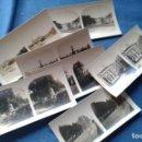 Fotografía antigua: LOTE CON 7 FOTOGRAFIAS ESTEREOSCOPICAS DE MALAGA - VER TODAS - NO SE VENDEN SUELTAS. Lote 131213336