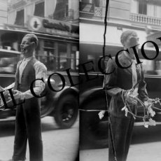 Fotografía antigua: VALENCIA - FALLA - NEGATIVO EN CRISTAL ESTEREOSCOPICO - AÑOS 1910-20. Lote 131905106