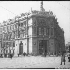 Fotografía antigua: MADRID- POSITIVO CRISTAL- BANCO NACIONAL DE ESPAÑA 1920. Lote 132318538