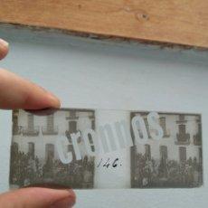 Fotografía antigua: PLACA ESTEREOSCOPICA ORIGINAL EN POSITIVO 1900-1910 ABLA ALMERÍA. Lote 151551752