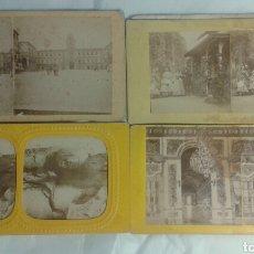 Old photograph - Lote de 20 fotografias estereoscopicas defectuosas - 132951259