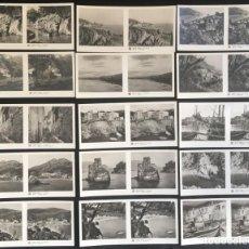 Fotografía antigua: LOTE DE 15 POSTALES ESTEREOSCOPICAS DE LA COSTA BRAVA, GERONA, 1ª SERIE. Lote 134735122