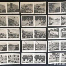 Fotografía antigua: LOTE DE 15 POSTALES ESTEREOSCOPICAS DE LA COSTA BRAVA, GERONA, 3ª SERIE. Lote 134735330