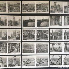 Fotografía antigua: LOTE DE 15 POSTALES ESTEREOSCOPICAS DE BARCELONA, 1ª SERIE . Lote 134735546