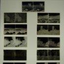 Fotografía antigua: BARCELONA Y/O PROVINCIA - 11 PLACAS NEGATIVOS EN CRISTAL ESTEREOSCOPICOS - AÑOS 1920-30. Lote 135192446