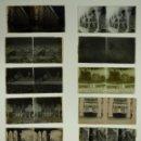 Fotografía antigua: BARCELONA Y/O PROVINCIA - 16 PLACAS POSITIVOS Y NEGATIVOS EN CRISTAL ESTEREOSCOPICOS - AÑOS 1920-30. Lote 135192754