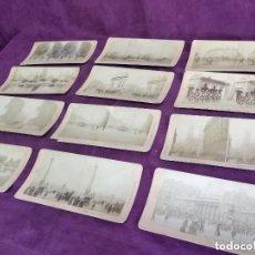 Fotografía antigua: S. XIX, LOTE DE 12 ANTIGUAS FOTOGRAFÍAS ESTEREOSCÓPICAS DEL REINO UNIDO, 1890´S, B. W. KILBURN. Lote 135771350
