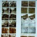 Fotografía antigua: BARCELONA Y/O PROVINCIA - 13 PLACAS POSITIVOS EN CRISTAL ESTEREOSCOPICOS - AÑOS 1920-30. Lote 136004146