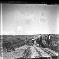 Fotografía antigua: PLACA ESTEREOSCOPICA DE PARAJE DE GRANADA O ALMERÍA. ANTERIOR A 1910.. Lote 137447936