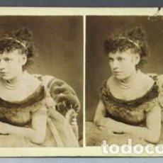 Old photograph - FOTOGRAFIA ESTEREOSCOPICA. BEAUTES DE JOUR. COLLECTION B. K. - P-ESTEO-053 - 137769374