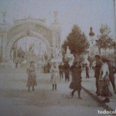 Old photograph - (ES-181018) ESTEREOSCOPICA DE BARCELONA - Plaza Cataluña.CABALGATA - 138183242