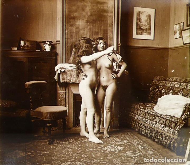 FOTOGRAFÍAS ERÓTICAS ARTÍSTICAS - COLECCIÓN DE 15 FOTOGRAFÍAS ESTEREOSCÓPICAS - CA.1900 (Fotografía Antigua - Estereoscópicas)