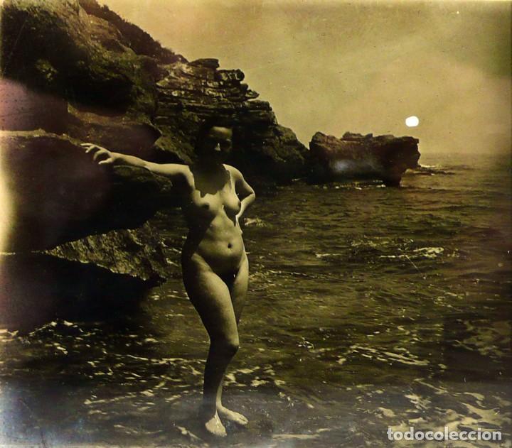 Fotografía antigua: Fotografías eróticas artísticas - Colección de 15 fotografías estereoscópicas - Ca.1900 - Foto 9 - 138597814