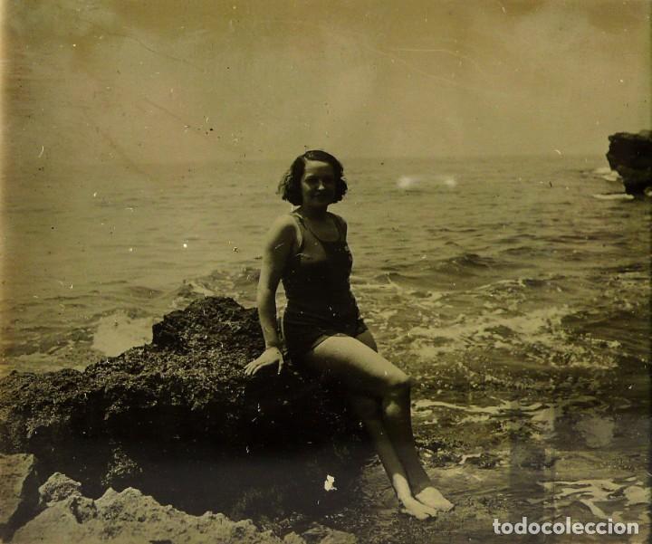 Fotografía antigua: Fotografías eróticas artísticas - Colección de 15 fotografías estereoscópicas - Ca.1900 - Foto 11 - 138597814