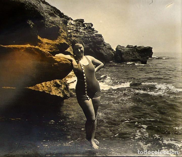 Fotografía antigua: Fotografías eróticas artísticas - Colección de 15 fotografías estereoscópicas - Ca.1900 - Foto 17 - 138597814