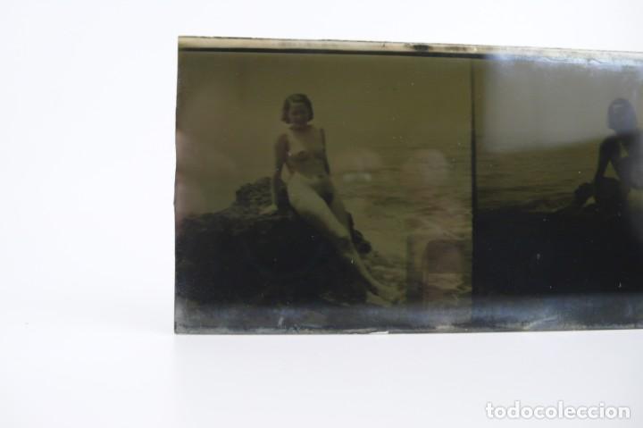 Fotografía antigua: Fotografías eróticas artísticas - Colección de 15 fotografías estereoscópicas - Ca.1900 - Foto 20 - 138597814