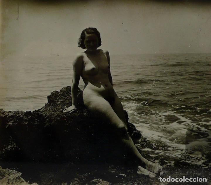 Fotografía antigua: Fotografías eróticas artísticas - Colección de 15 fotografías estereoscópicas - Ca.1900 - Foto 24 - 138597814