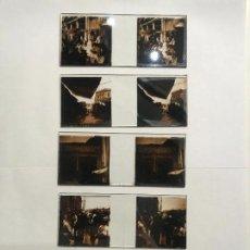 Fotografía antigua: LOTE DE 5 CRISTALES ESTEREOSCOPICOS CON IMAGENES DE MEXICO MEJICO PRINCIPIOS DE SIGLO XX. Lote 139879942