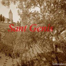 Fotografía antigua: SANT GENÍS DELS AGUDELLS - BARCELONA - 1900 - NEGATIU DE VIDRE . Lote 140496214