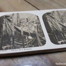 Fotografía antigua: MADRID VISTAS FOTOGRAFÍAS ESTEREOSCOPICAS EL TURISMO PRACTICO. Lote 140523114