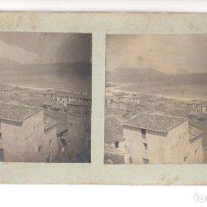 Fotografía antigua: ALTEA (ALICANTE) VISTA DE ALTEA. FOTO. E. JORDÁ BLANES.(ALCOY).- (RARA).. Lote 140580898