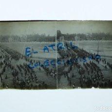 Fotografía antigua: VALENCIA - PUENTE DEL REAL - POSITIVO EN CRISTAL ESTEREOSCOPICO - AÑOS 1910-20. Lote 140743322