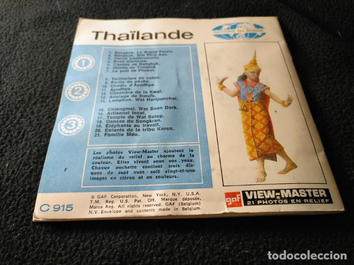 Fotografía antigua: thailande view master 3 discos - Foto 3 - 142329090