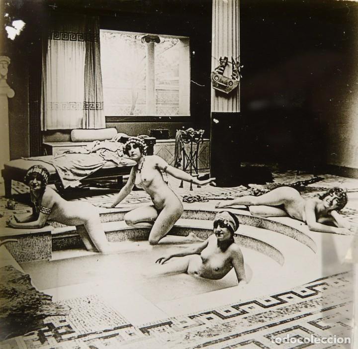 Fotografía antigua: Fotografías eróticas artísticas - Colección 64 fotografías estereoscópicas - Ca.1900 - Foto 10 - 142334502