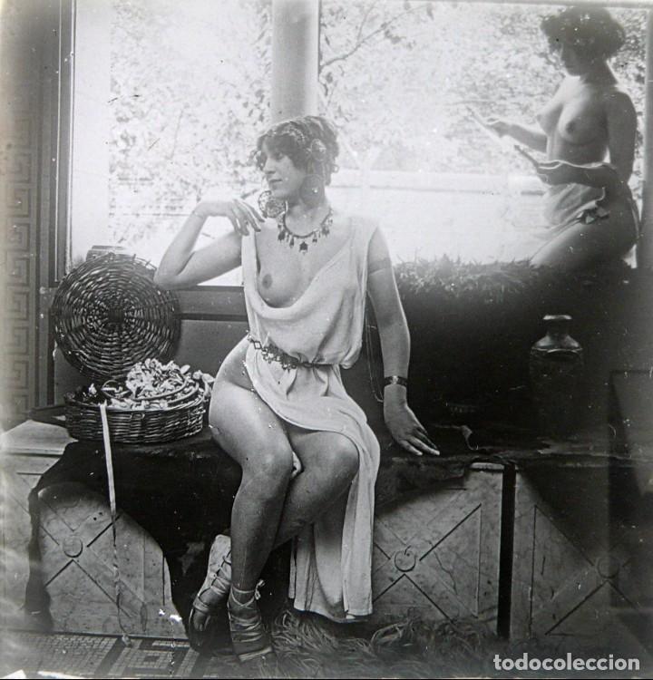 Fotografía antigua: Fotografías eróticas artísticas - Colección 64 fotografías estereoscópicas - Ca.1900 - Foto 11 - 142334502