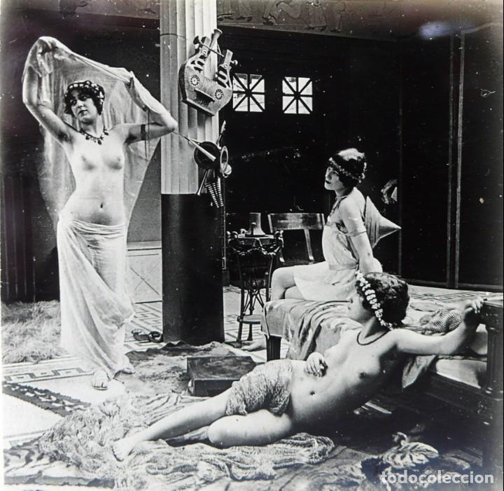 Fotografía antigua: Fotografías eróticas artísticas - Colección 64 fotografías estereoscópicas - Ca.1900 - Foto 12 - 142334502