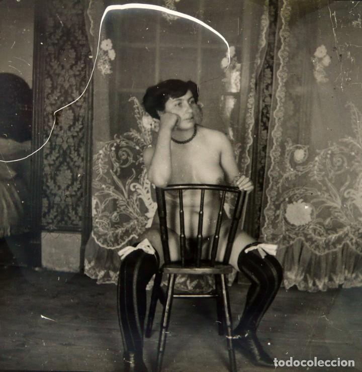 Fotografía antigua: Fotografías eróticas artísticas - Colección 64 fotografías estereoscópicas - Ca.1900 - Foto 13 - 142334502