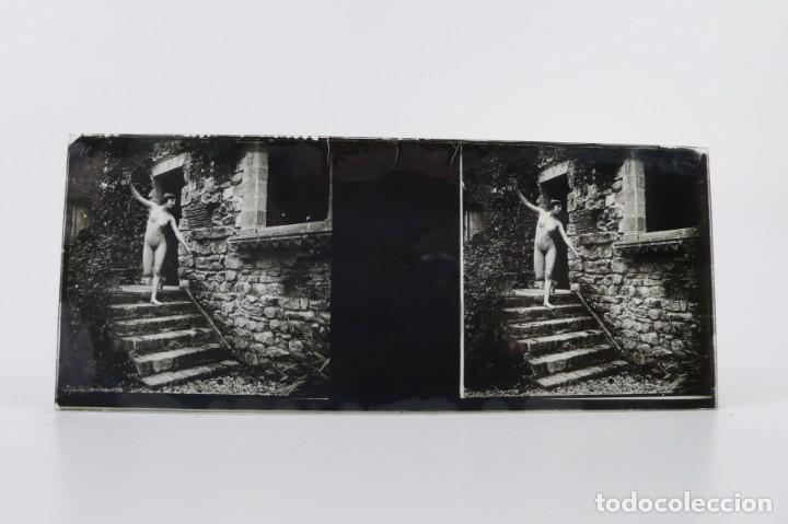 Fotografía antigua: Fotografías eróticas artísticas - Colección 64 fotografías estereoscópicas - Ca.1900 - Foto 14 - 142334502