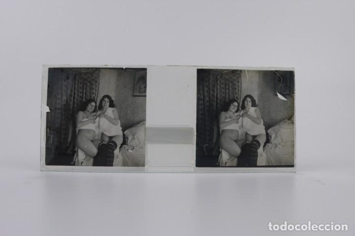 Fotografía antigua: Fotografías eróticas artísticas - Colección 64 fotografías estereoscópicas - Ca.1900 - Foto 15 - 142334502