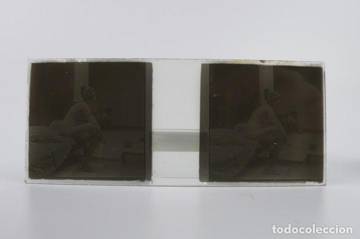 Fotografía antigua: Fotografías eróticas artísticas - Colección 64 fotografías estereoscópicas - Ca.1900 - Foto 17 - 142334502