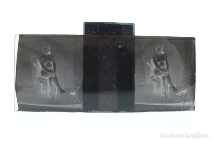 Fotografía antigua: Fotografías eróticas artísticas - Colección 64 fotografías estereoscópicas - Ca.1900 - Foto 21 - 142334502