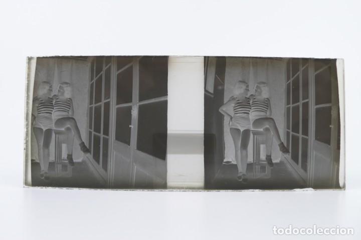 Fotografía antigua: Fotografías eróticas artísticas - Colección 64 fotografías estereoscópicas - Ca.1900 - Foto 23 - 142334502