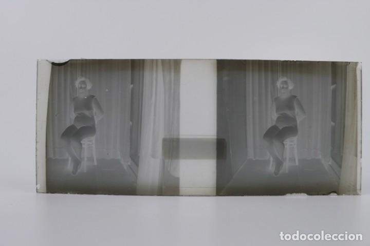 Fotografía antigua: Fotografías eróticas artísticas - Colección 64 fotografías estereoscópicas - Ca.1900 - Foto 24 - 142334502