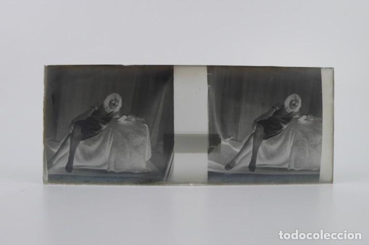 Fotografía antigua: Fotografías eróticas artísticas - Colección 64 fotografías estereoscópicas - Ca.1900 - Foto 28 - 142334502