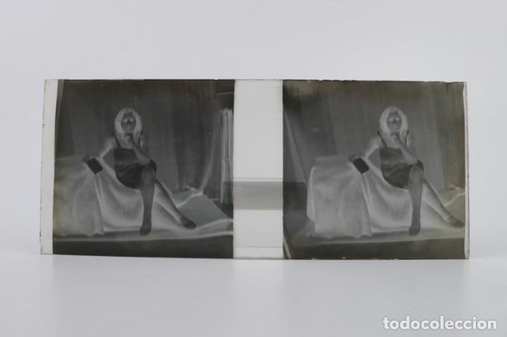 Fotografía antigua: Fotografías eróticas artísticas - Colección 64 fotografías estereoscópicas - Ca.1900 - Foto 30 - 142334502