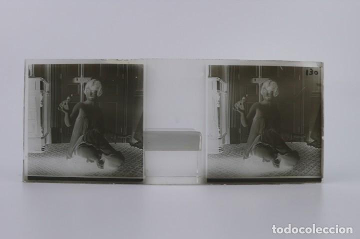 Fotografía antigua: Fotografías eróticas artísticas - Colección 64 fotografías estereoscópicas - Ca.1900 - Foto 36 - 142334502