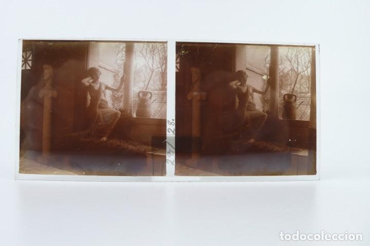 Fotografía antigua: Fotografías eróticas artísticas - Colección 64 fotografías estereoscópicas - Ca.1900 - Foto 38 - 142334502