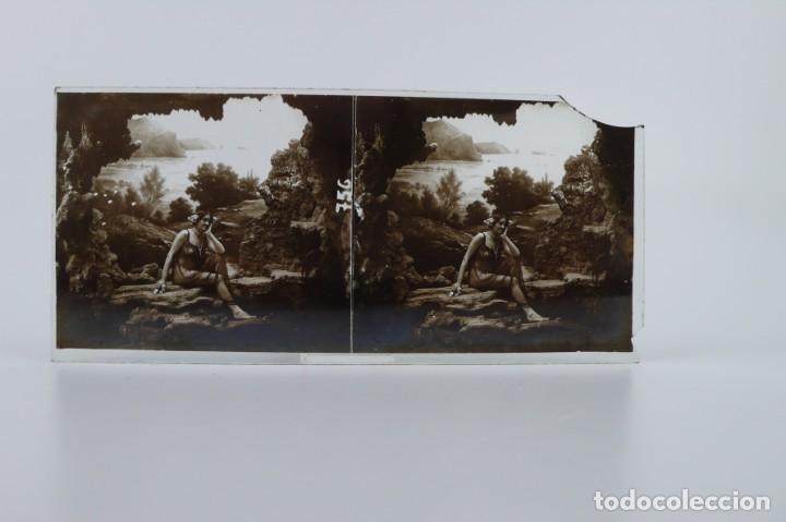 Fotografía antigua: Fotografías eróticas artísticas - Colección 64 fotografías estereoscópicas - Ca.1900 - Foto 39 - 142334502