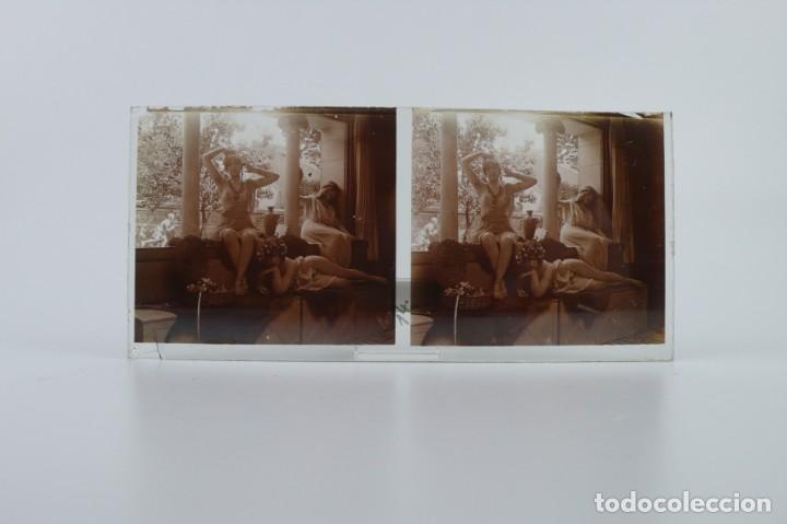Fotografía antigua: Fotografías eróticas artísticas - Colección 64 fotografías estereoscópicas - Ca.1900 - Foto 40 - 142334502