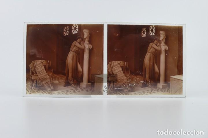 Fotografía antigua: Fotografías eróticas artísticas - Colección 64 fotografías estereoscópicas - Ca.1900 - Foto 41 - 142334502