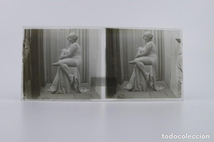 Fotografía antigua: Fotografías eróticas artísticas - Colección 64 fotografías estereoscópicas - Ca.1900 - Foto 42 - 142334502