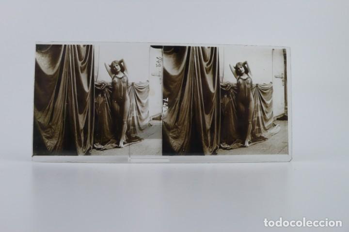 Fotografía antigua: Fotografías eróticas artísticas - Colección 64 fotografías estereoscópicas - Ca.1900 - Foto 43 - 142334502